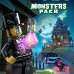LEGO WORLDS MONSTER PORTADA