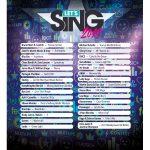 Canciones lista lets sing 2019