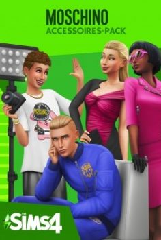 LOS SIMS 4 REPACK CON DLC  Y MOSCHINO STUFF PACK