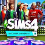 Los sims 4 Discover university cover pc