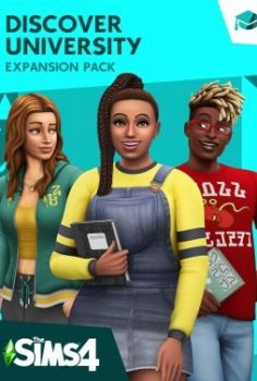 LOS SIMS 4 DISCOVER UNIVERSITY