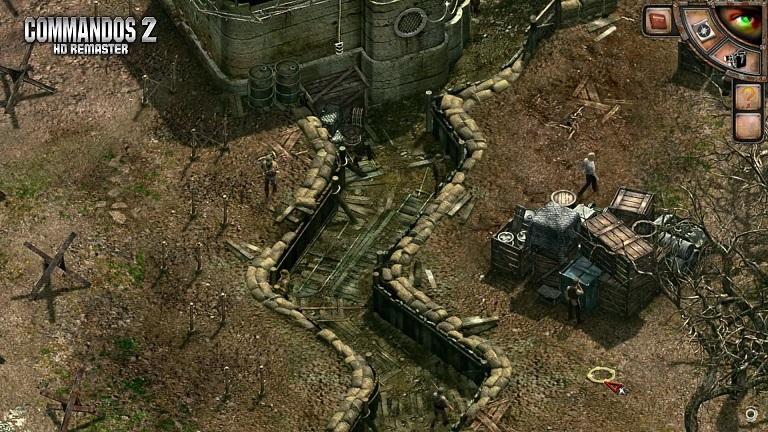 cOMMANDOs gameplay