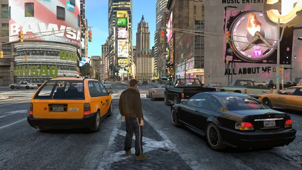 GTA 4 Complete Edition gameplay