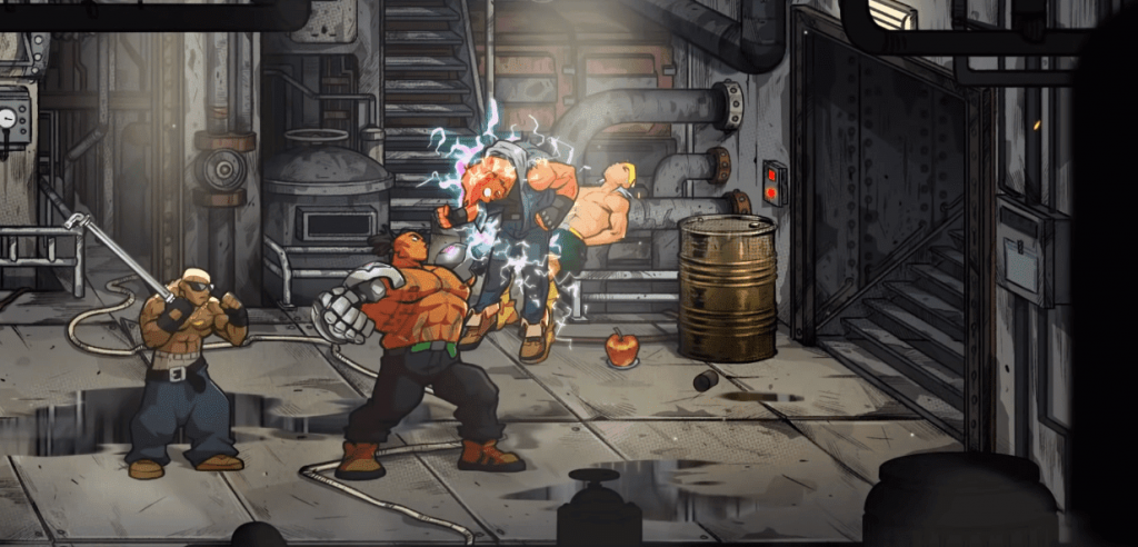 Streets of Rage 4 pc 2020