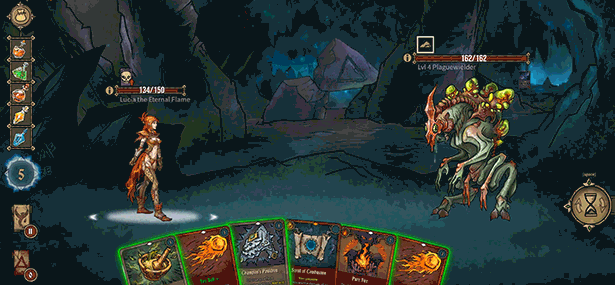 Deck of ashes gameplay