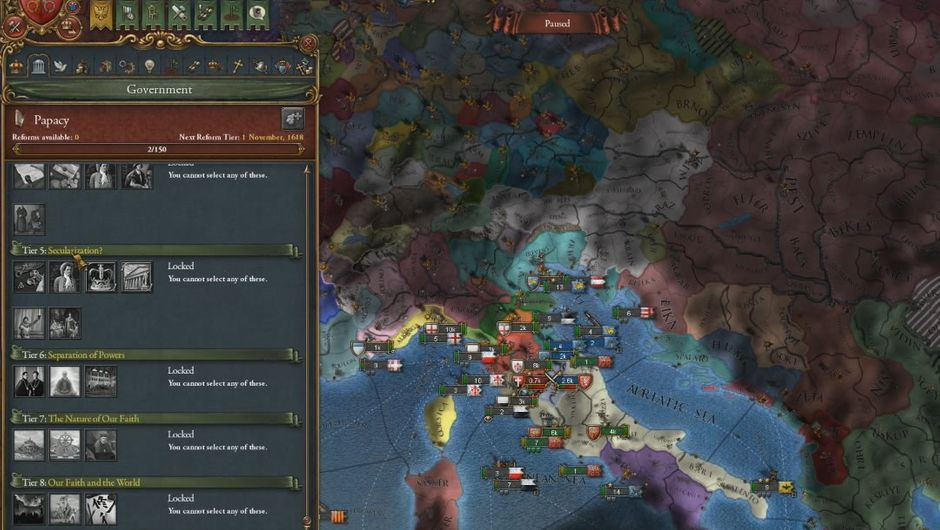 Europa Universalis 4 emperor pc