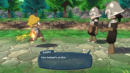 Little Town Hero gameplay