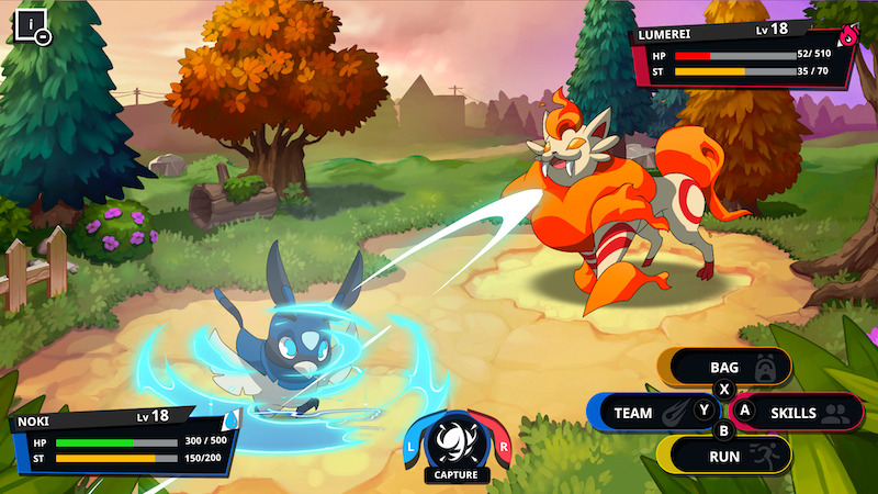 Nexomon PC gampelay