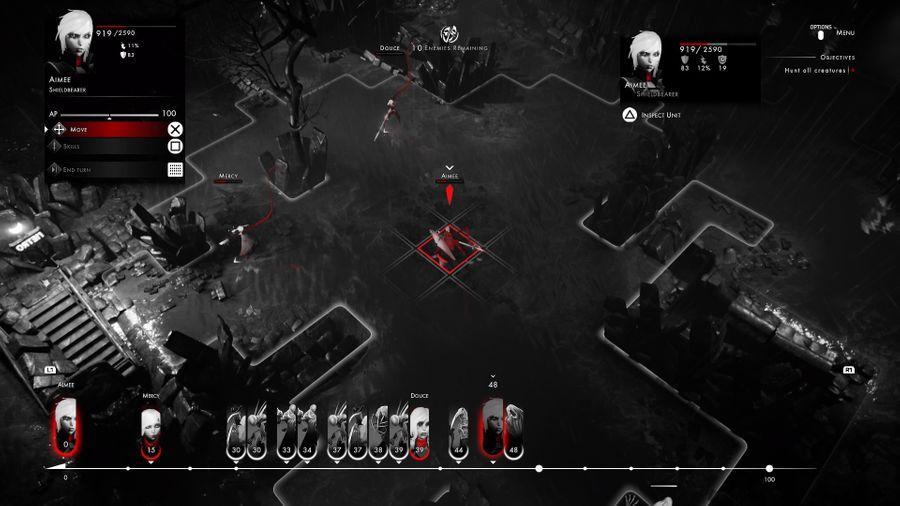 Gameplay de Othercide