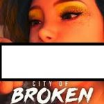 City of Broken Dreamers Book One Cover PC