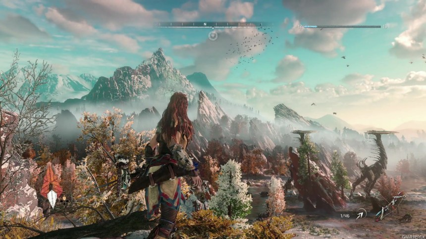 HZD  Gameplay PC