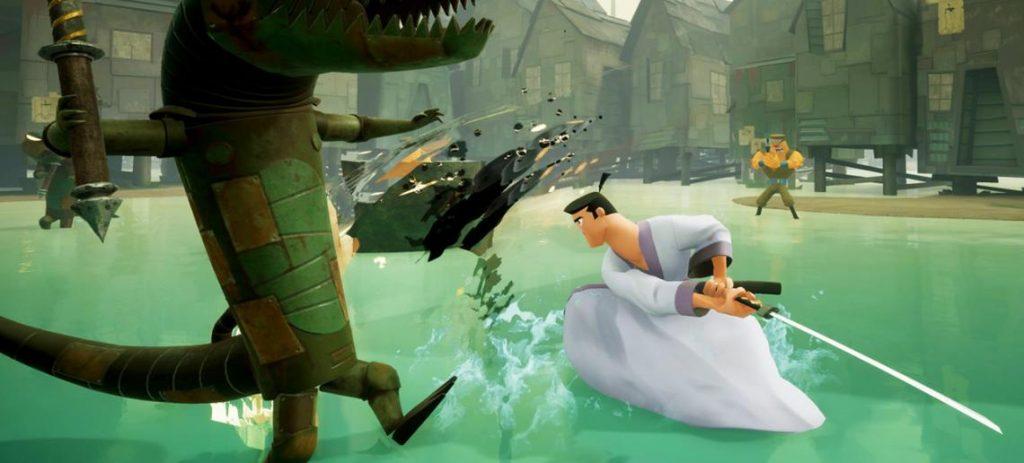 Gameplay Samurai  Jack Battle Through Time