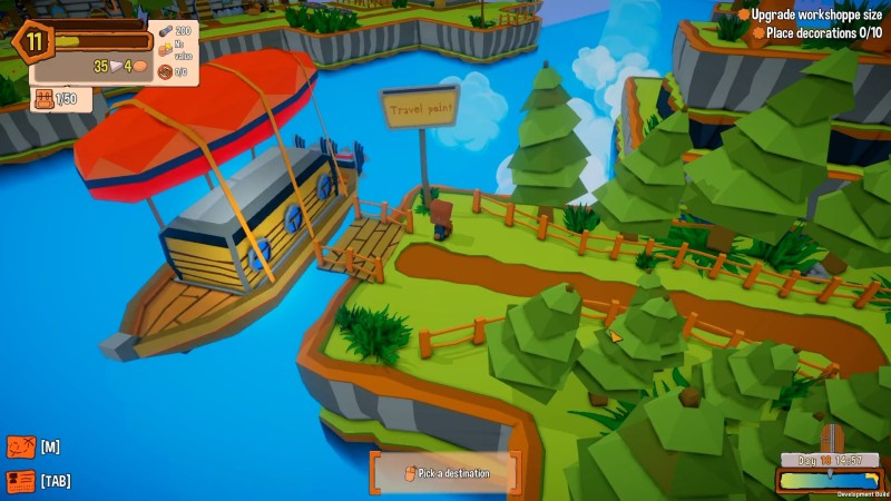 Gameplay de Craftlands Workshoppe PC 2020