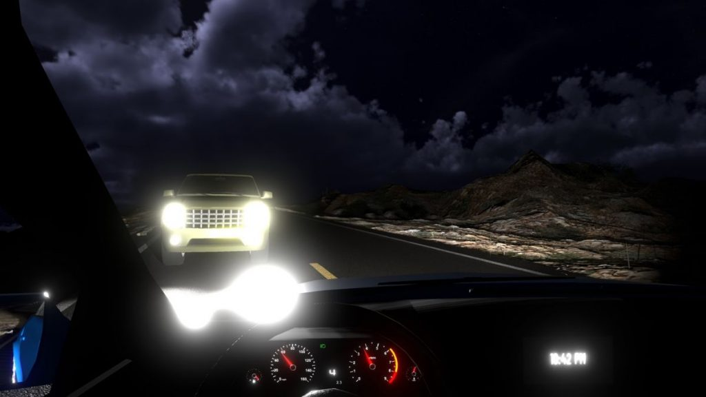 Gameplay de NightVision Drive Forever Beta