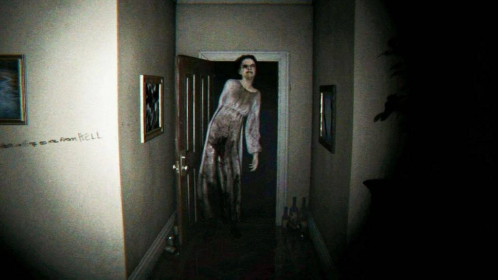 p.t Playable Teaser para PC Gameplay