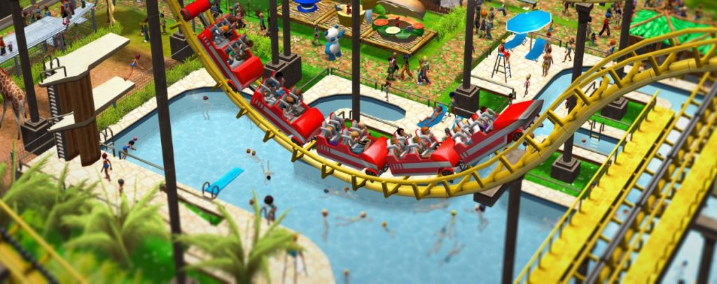Gameplay de RollerCoaster Tycoon 3 Complete Edition PC 2020