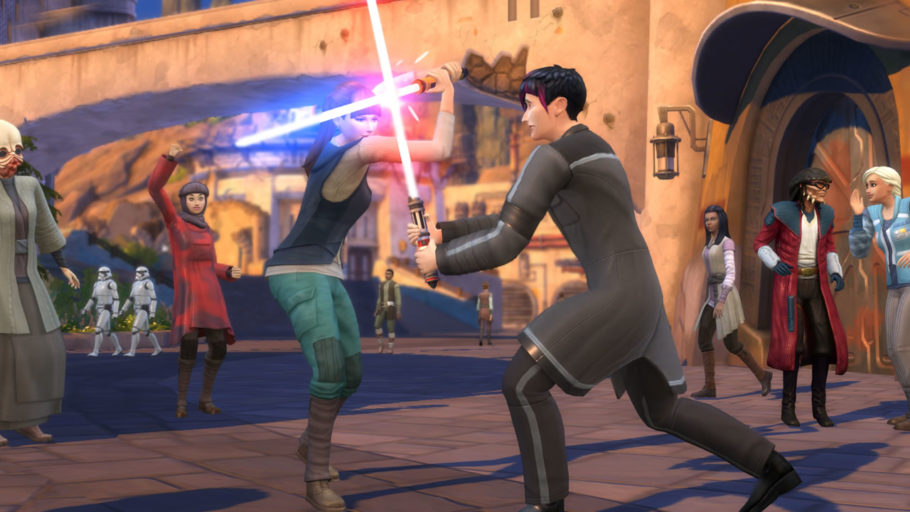 The Sims 4 Star Wars DLC Gameplay