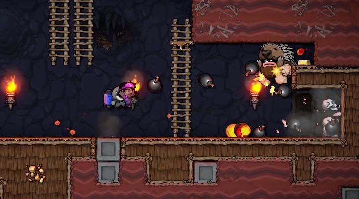 Gameplay de Spelunky 2 para PC