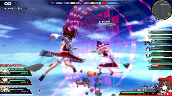 Touhou Sky Arena PC Gameplay