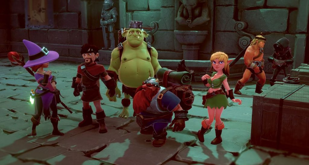 Gameplay de The Dungeon of Naheulbeuk PC