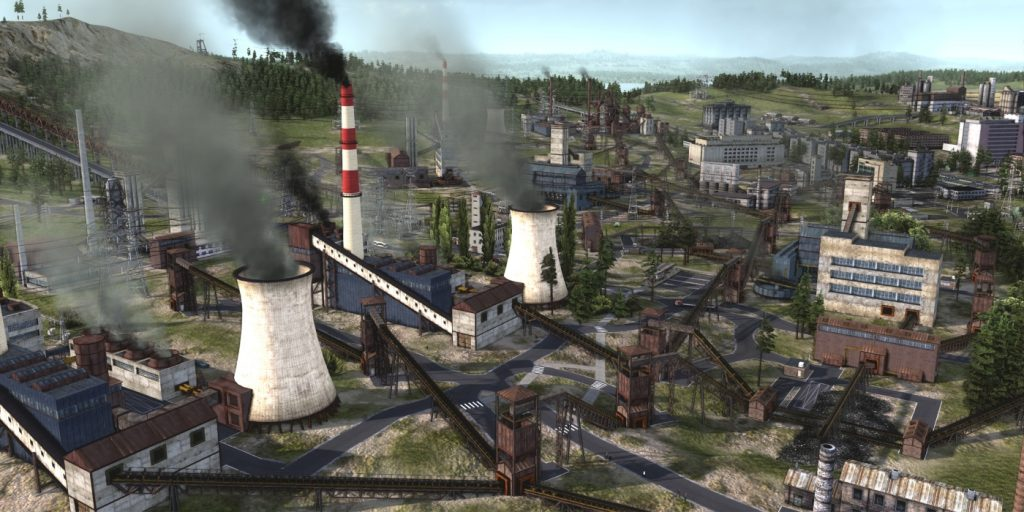 Gameplay de Workers and Resources Soviet Republic PC