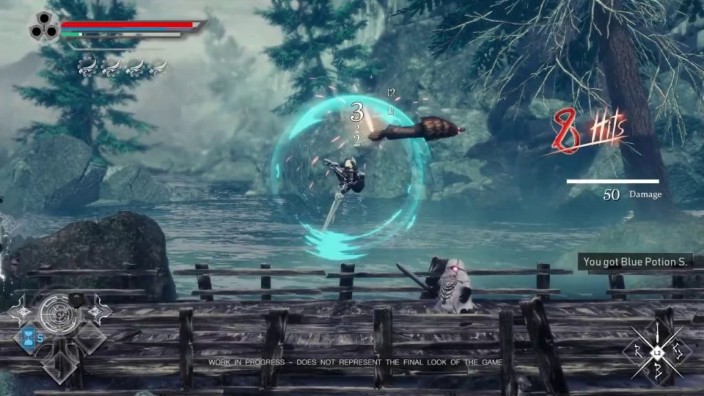Aeternoblade 2 directors rewind gameplay pc