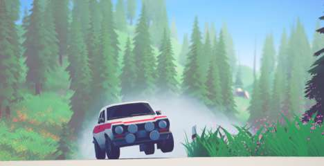 Gameplay de Art of Rally PC Español