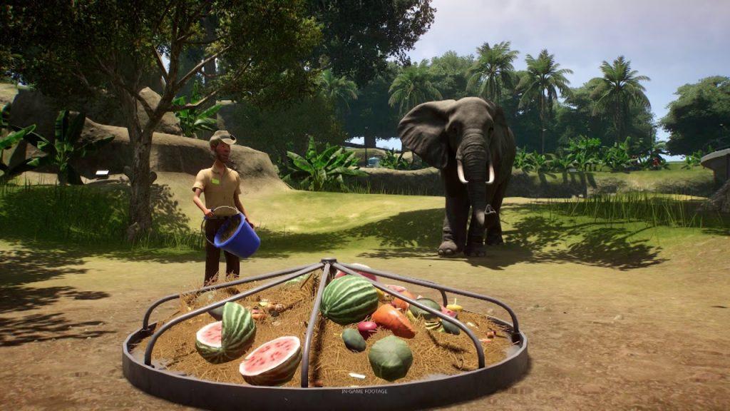 Gameplay de Planet Zoo para PC