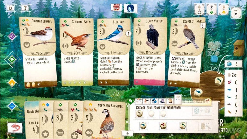 Wingspan Digital pc gameplay