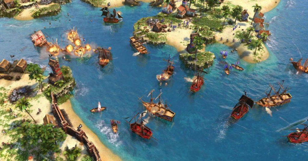 Gameplay de Age Of Empires 3 Definitive Edition