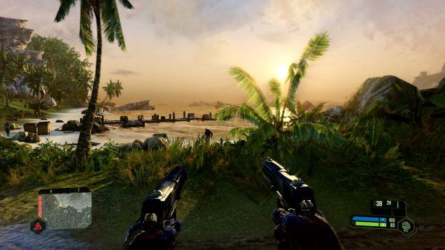 Gameplay de Crysis remastered 2020
