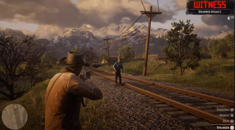 RDR 2 Gameplay PC
