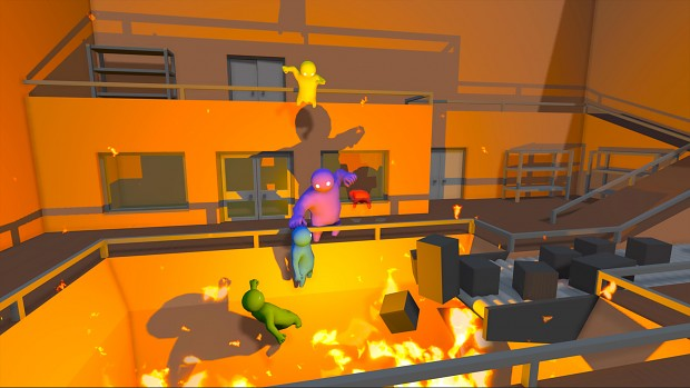 Gameplay de Gang Beasts para PC