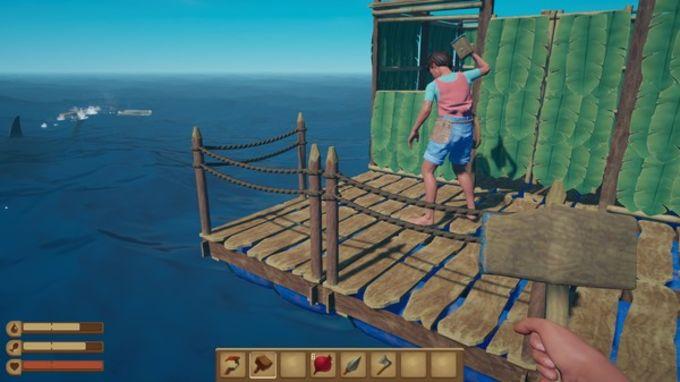 Gameplay de Raft para pc