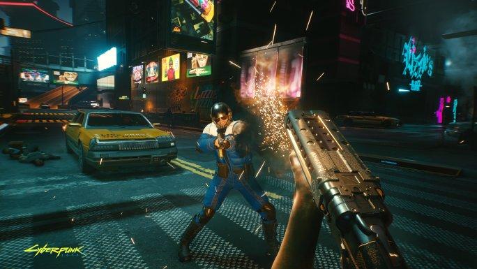 Gameplay de Cyberpunk 2077 para PC