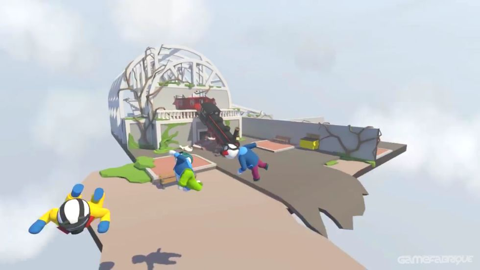 Gameplay de Human Fall Flat PC