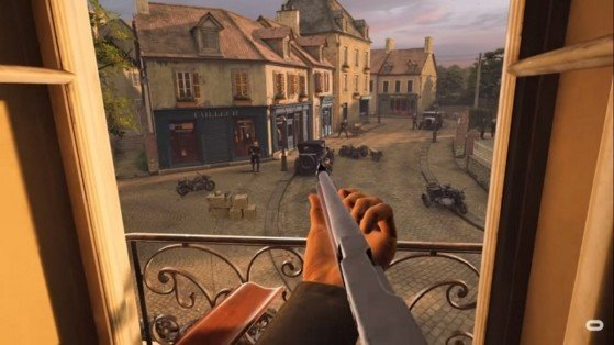 Gameplay de MOH Above and Beyond VR PC 2020