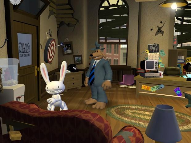 Gameplay de Sam and Max Save the world remasterizado 2020