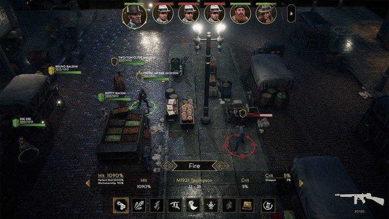 Gameplay de Empire of Sin PC