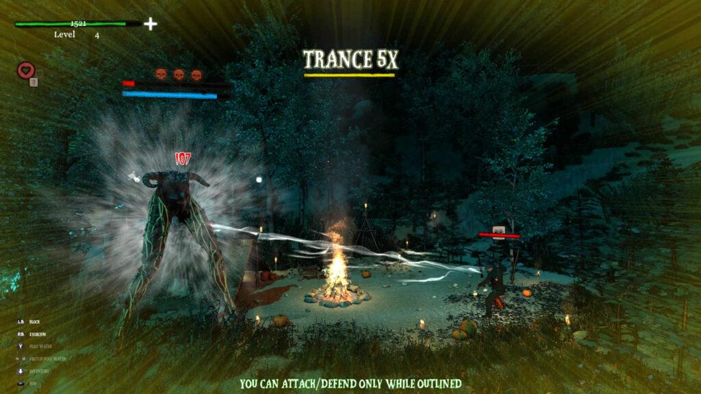 Gameplay de Infernal Radiation PC