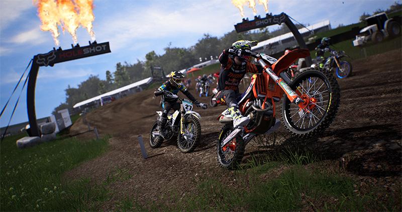 Gameplay de MXGP 2020 The Official Motocross Videogame PC