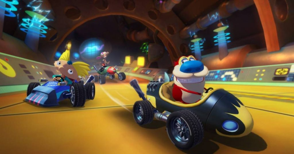 Nickelodeon Kart Racers 2 Grand Prix Gameplay