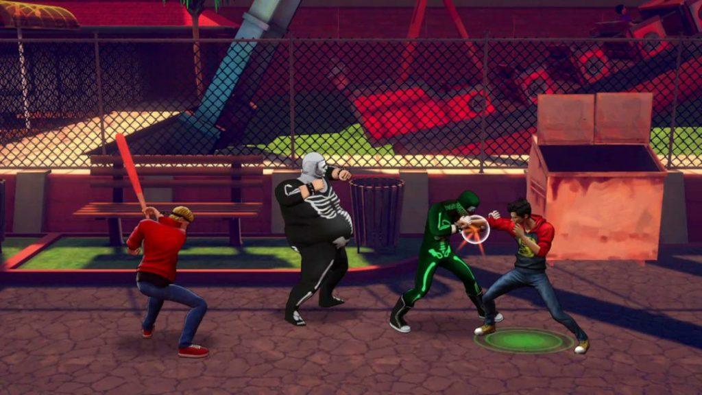 Gameplay del juego de Cobra Kai 2021 pc