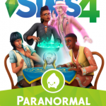 Cover de Los sims 4 actividad paranormal PC