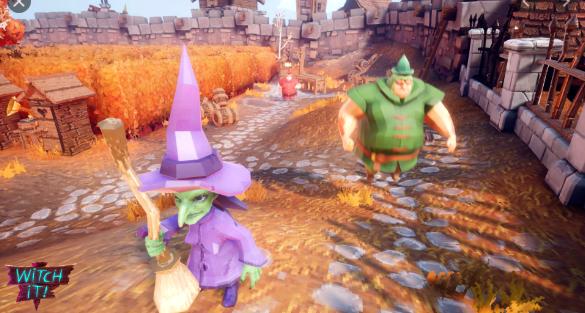 Gameplay de Witch it online español pc