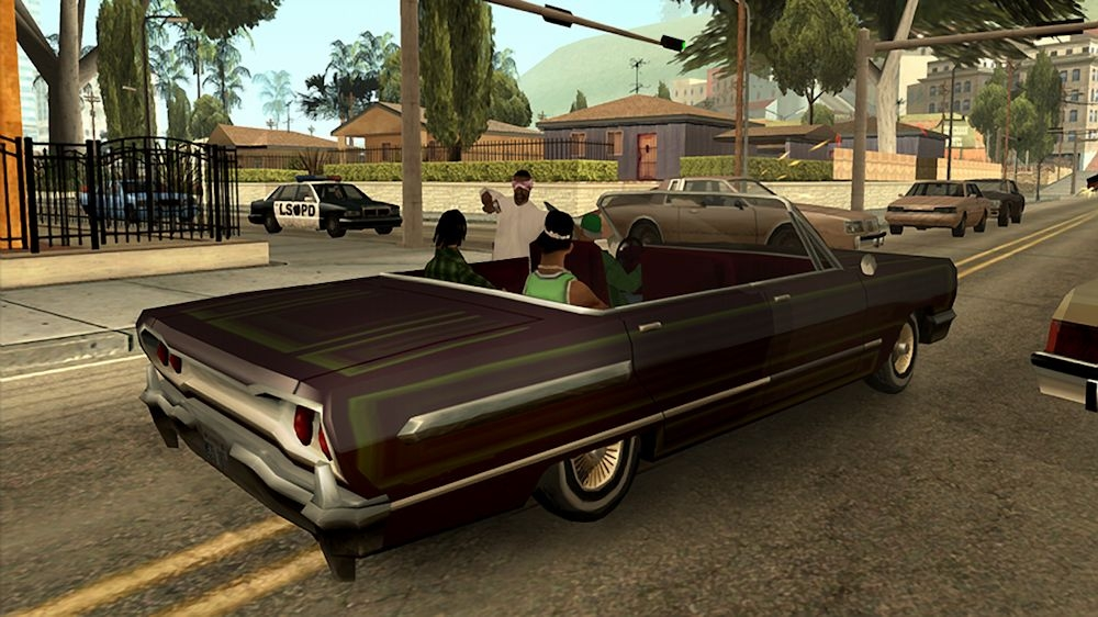 Gameplay de GTA San Andreas Remastered Online Multiplayer PC