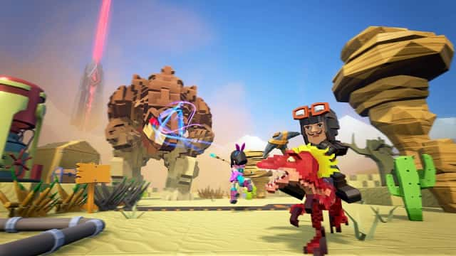 Gameplay de Pixark Online para PC