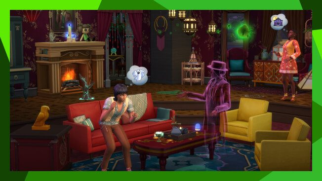 Gameplay de Los Sims 4 Paranormal Stuff pc  Español