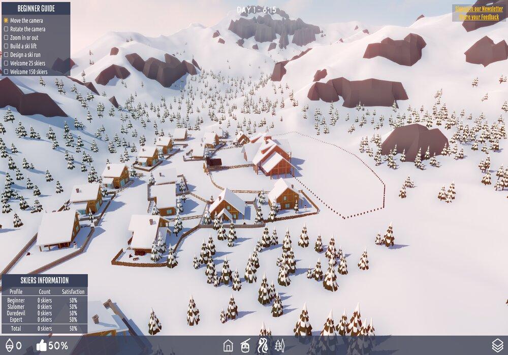 Gameplay de Snowtopia Ski Resort Tycoon PC 2021
