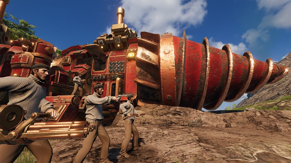 Gameplay de Volcanoids online para pc